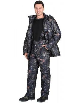 Костюм мужской зимний СИРИУС-ТАЙГА темный лес (куртка+брюки)