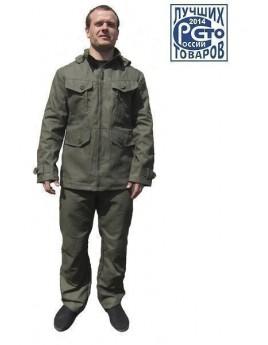 Куртка мужская летняя КАЙМАН т.хаки с капюшоном
