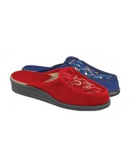 Обувь домашняя велюр