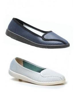 Туфли с перфорацией женские