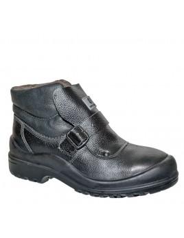 Ботинки МС16 ПУ/Нитрил МП (юфть/сукно)